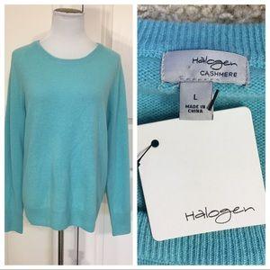NWT! Halogen cashmere sweater